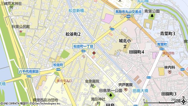 〒680-0801 鳥取県鳥取市松並町の地図