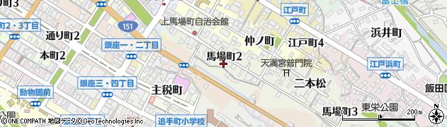 民宿若松周辺の地図