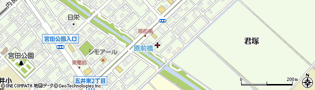 武蔵屋グランパレス周辺の地図