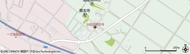 小沼田要本寺周辺の地図