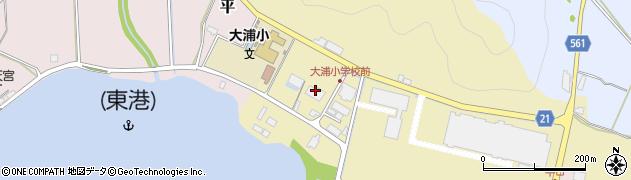 京都府舞鶴市中田周辺の地図
