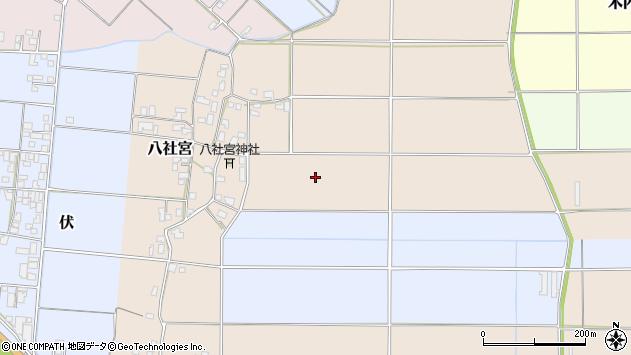 〒668-0854 兵庫県豊岡市八社宮の地図
