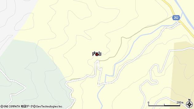 〒669-6945 兵庫県美方郡新温泉町内山の地図