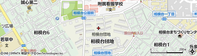 神奈川県相模原市南区相模台団地周辺の地図
