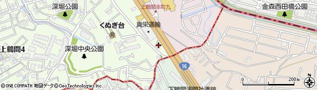 神奈川県相模原市南区上鶴間3丁目2-23周辺の地図