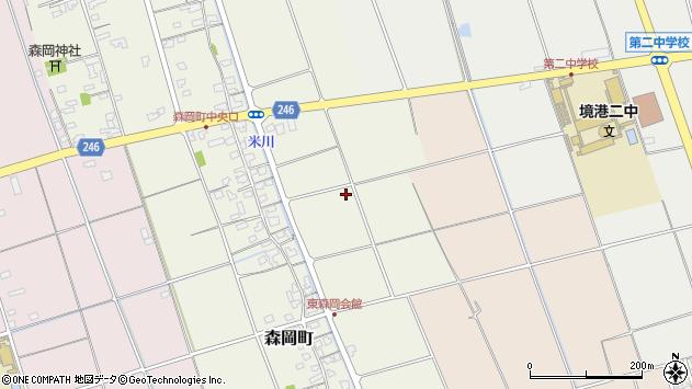 〒684-0065 鳥取県境港市森岡町の地図