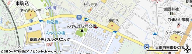 花澤事務所周辺の地図