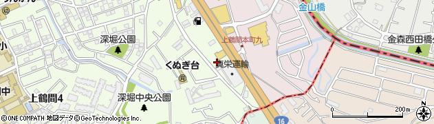 神奈川県相模原市南区上鶴間3丁目2周辺の地図