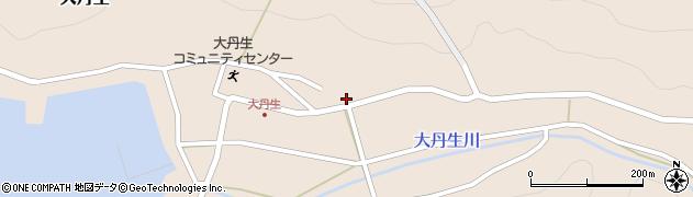 京都府舞鶴市大丹生周辺の地図
