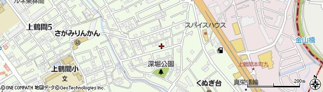 神奈川県相模原市南区上鶴間3丁目周辺の地図