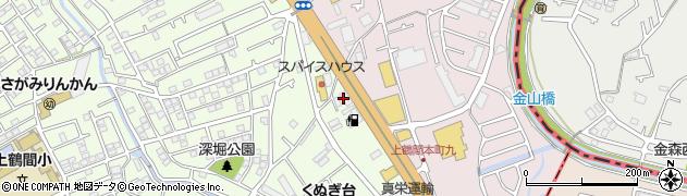 神奈川県相模原市南区上鶴間3丁目2-2周辺の地図