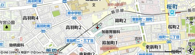 シルクホテル周辺の地図