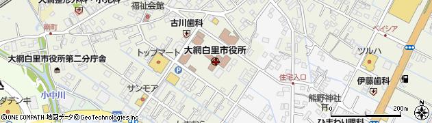 千葉銀行大網白里市役所 ATM周辺の地図
