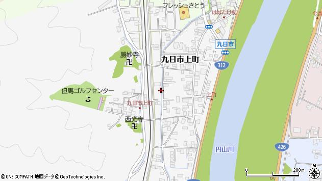 〒668-0051 兵庫県豊岡市九日市上町の地図