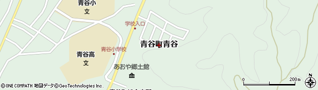 鳥取県鳥取市青谷町青谷周辺の地図
