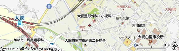 京葉銀行大網支店 ATM周辺の地図