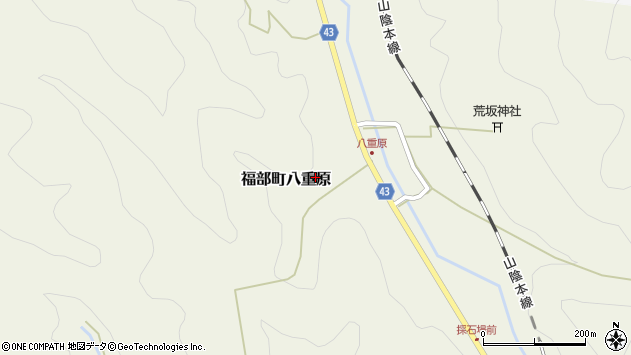 〒689-0115 鳥取県鳥取市福部町八重原の地図