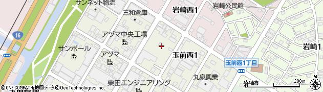 千葉県市原市玉前西1丁目周辺の地図