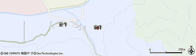 京都府舞鶴市室牛周辺の地図