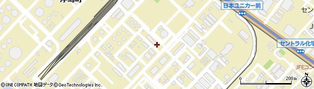 神奈川県川崎市川崎区浮島町周辺の地図