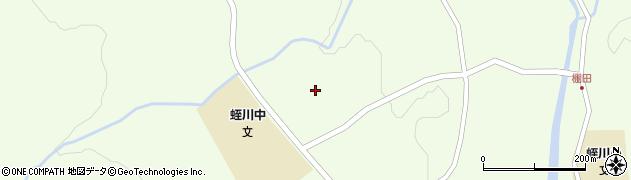 岐阜県中津川市蛭川(棚田)周辺の地図