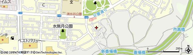 千葉県市原市ちはら台南3丁目周辺の地図