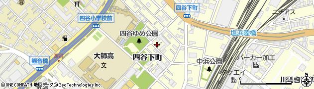 神奈川県川崎市川崎区四谷下町周辺の地図