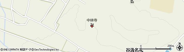 中林寺周辺の地図