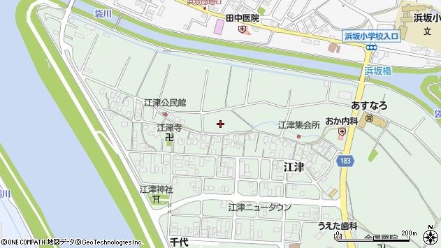 〒680-0901 鳥取県鳥取市江津の地図