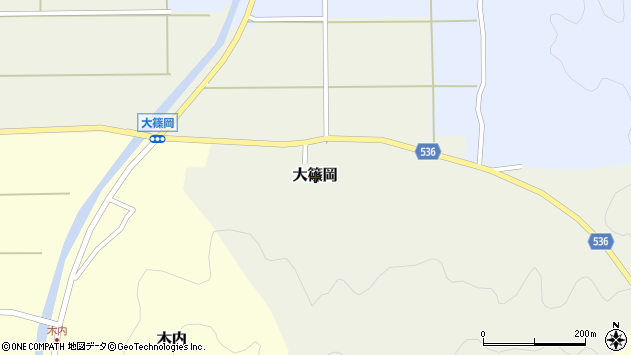 〒668-0861 兵庫県豊岡市大篠岡の地図