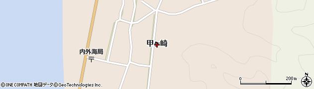 福井県小浜市甲ヶ崎周辺の地図