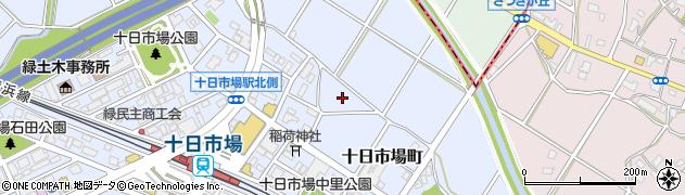 神奈川県横浜市緑区十日市場町周辺の地図