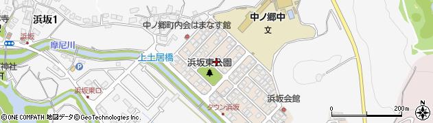 鳥取県鳥取市浜坂東周辺の地図