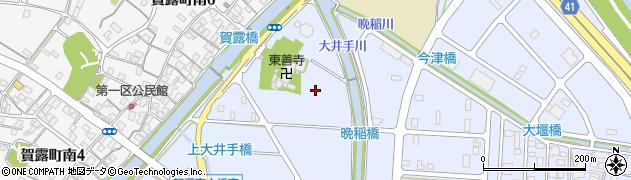 鳥取県鳥取市賀露町周辺の地図