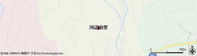 京都府舞鶴市河辺由里周辺の地図