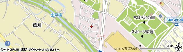 千葉県市原市ちはら台西3丁目周辺の地図
