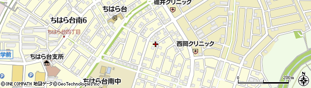 千葉県市原市ちはら台南5丁目周辺の地図