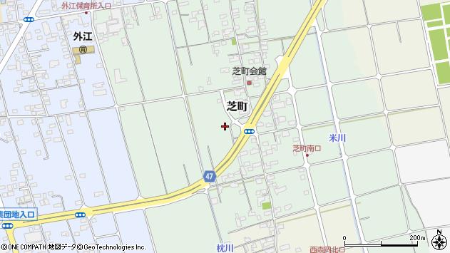 〒684-0066 鳥取県境港市芝町の地図
