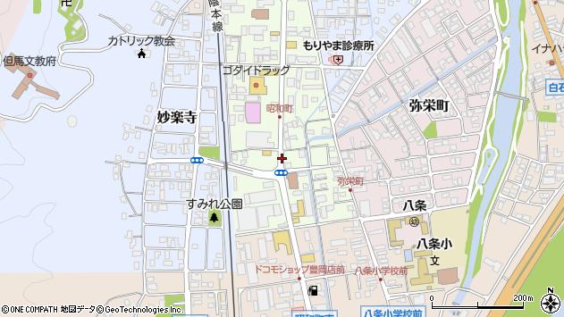 〒668-0055 兵庫県豊岡市昭和町の地図