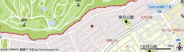 千葉県市原市ちはら台西6丁目周辺の地図