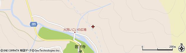 滋賀県長浜市木之本町大見周辺の地図