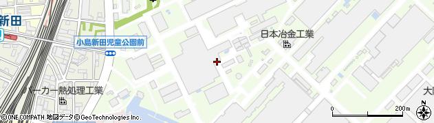 神奈川県川崎市川崎区小島町周辺の地図