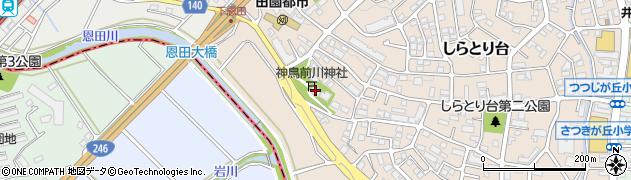 神鳥前川神社周辺の地図