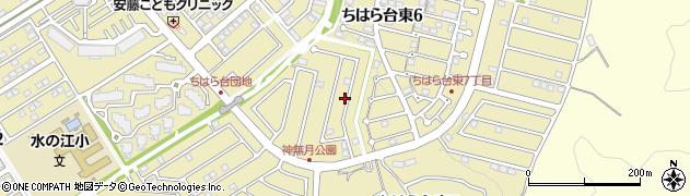 千葉県市原市ちはら台東6丁目周辺の地図