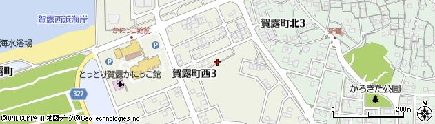 鳥取県鳥取市賀露町西周辺の地図