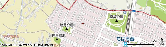千葉県市原市ちはら台西1丁目周辺の地図