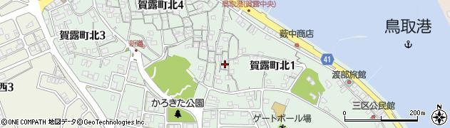 鳥取県鳥取市賀露町北周辺の地図