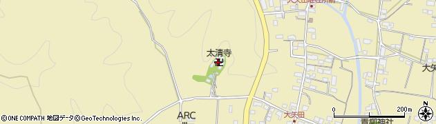 太清寺周辺の地図