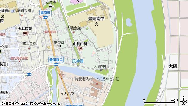 〒668-0041 兵庫県豊岡市大磯町の地図