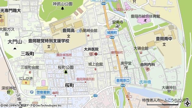 〒668-0045 兵庫県豊岡市城南町の地図